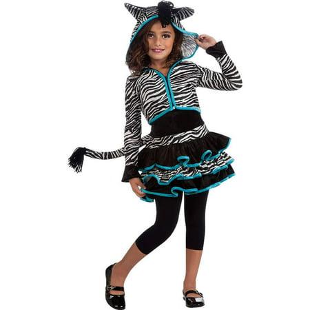 Zebra Kids Costume - Zebra Costumes For Adults