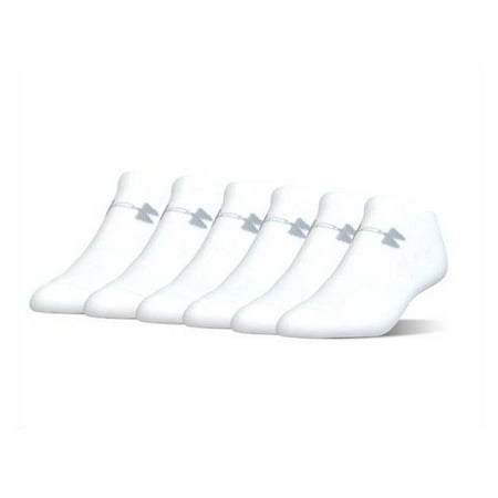 Under Armour Socks UA Men's Charged Cotton 2.0 No Show 6-Pack (Best Under Armour Snow Socks)