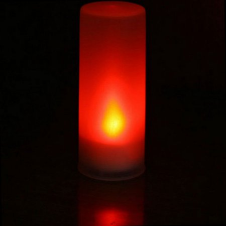 Flameless Smokeless Sound Control 7 Color LED Electronic Candle Night Light For Home Decor - image 1 of 1