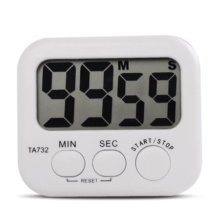 Mini Electronic LCD Digital Kitchen Timer Clock Countdown Count Time Loud Alarm Oven Cooking Tools