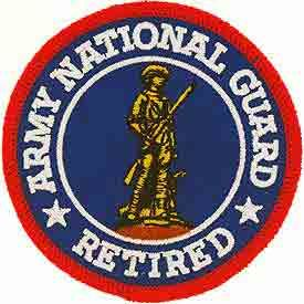 National Guard Acu Patch Foliage - ARMY NATIONAL GUARD RETIRED 3