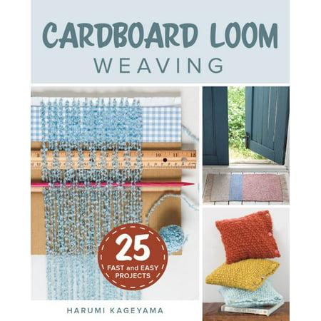 Cardboard Loom Weaving for $<!---->