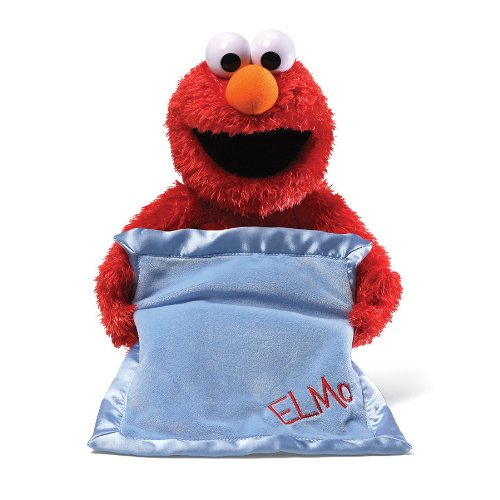 Gund Sesame Street Peek-A-Boo Elmo Animated Toy by Rejects from Studios