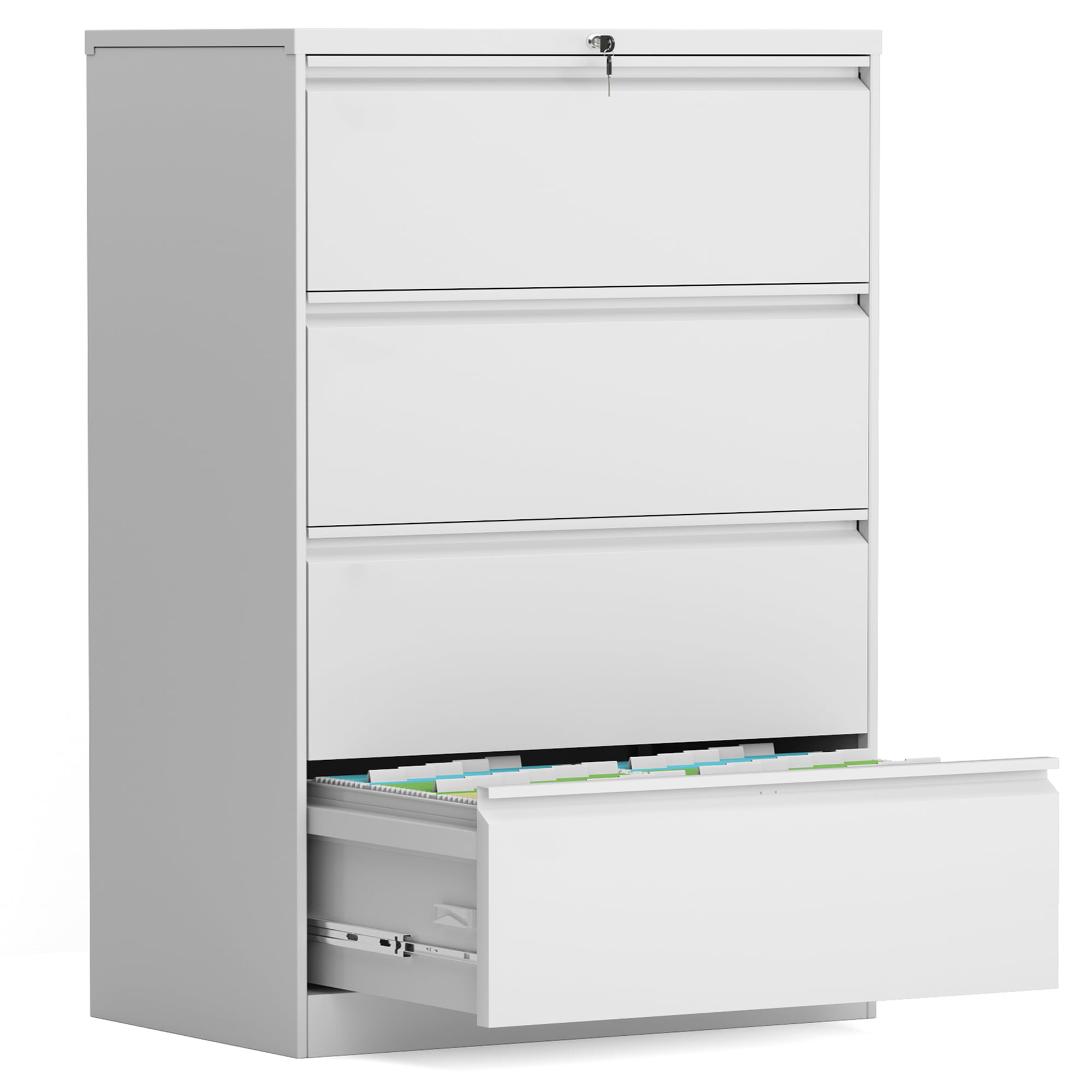 Doingart 30 Drawers Steel Office Cabinet, File Cabinet,Straight Edge Storage  Cabinet(White) - Walmart.com