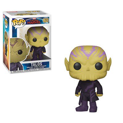 Funko POP! Marvel: Captain Marvel - Talos