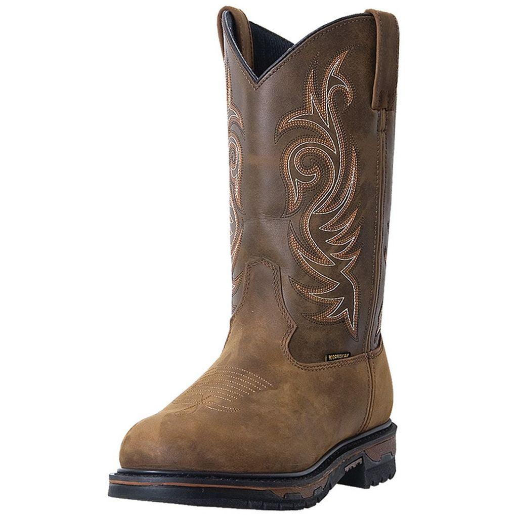 Laredo Work Boot Men Sullivan Waterproof Wellington Tan Cheyenne 68112 by Laredo