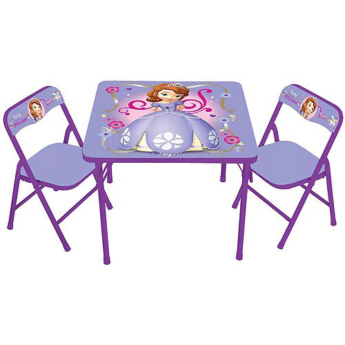 Disney Sofia the First Activity Table Set