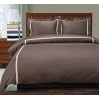 Superior 300 Thread Count Cotton Hotel Collection Duvet Cover Set
