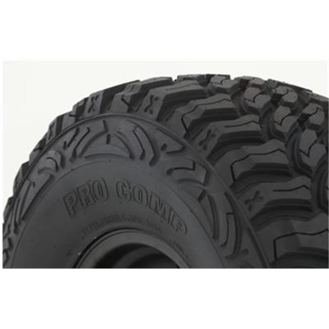Pro Comp Tire 770265 Black Xterrain Radial Tire, Lt265 X ...