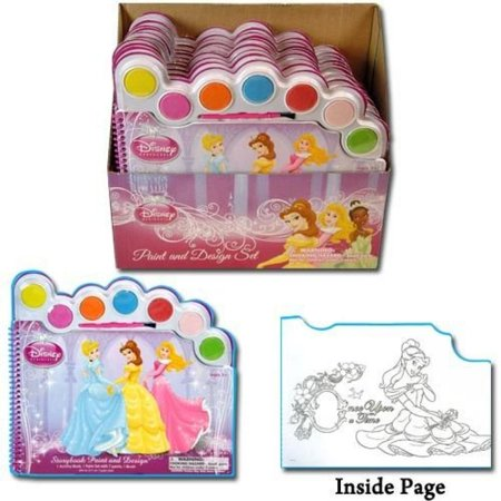 Disney Princess Water Paint Set - Story Book Paint and Design](Princess Face Paint)