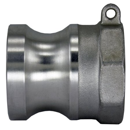 Cam And Groove Hose Couplings (304 Stainless Steel Cam-and-Groove Pipe Fitting Adapter 1/2