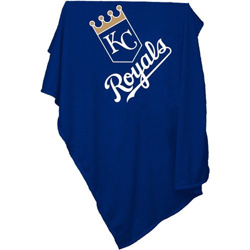 Kansas City Royals Official Sweatshirt Blanket by Logo Chair Inc.