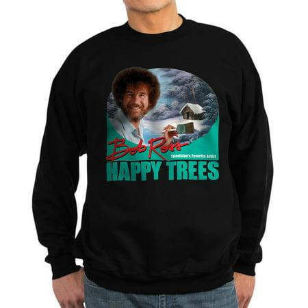 Classic Crewneck Sweatshirt - CafePress - Bob Ross - Classic Crew Neck Sweatshirt