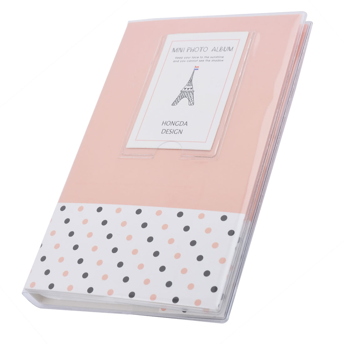 Outside Tour Memories PVC Dots Pattern Photo Picture Card Storage Case Album