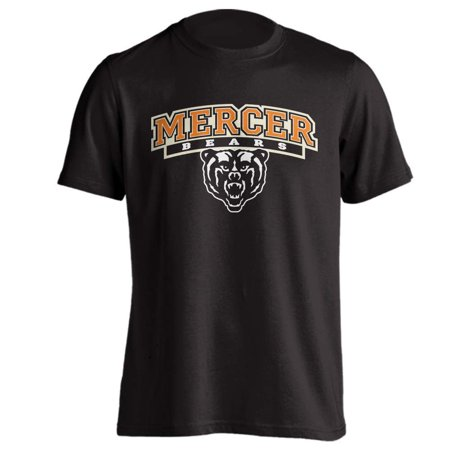 Mercer University Bears MU Classic Arch Mascot Short Sleeve T-Shirt  ()