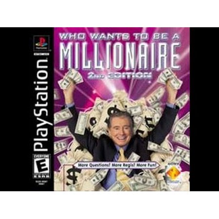 Who Wants to be a MIllionaire 2nd Edition- Playstation PS1