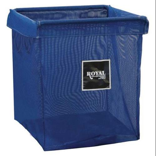 ROYAL BASKET TRUCK G06-BBX-XMN X-Frame Bag, 6 Bushel, Blue Mesh