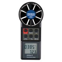 REED Instruments 8906 Rotating Vane Anemometer/Thermometer with Air Volume (CFM)