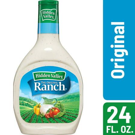 Hidden Valley Original Ranch Salad Dressing & Topping, Gluten Free - 24 oz (Tahini Salad Dressing)