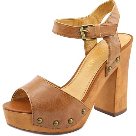 Very Volatile Terza   Open Toe Leather  Platform Sandal