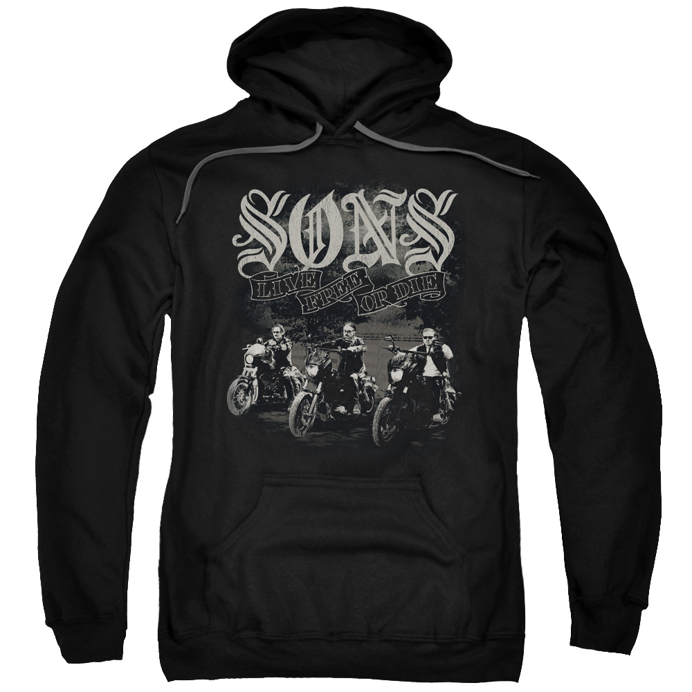 Sons Of Anarchy Sons Live Free Mens Pullover Hoodie