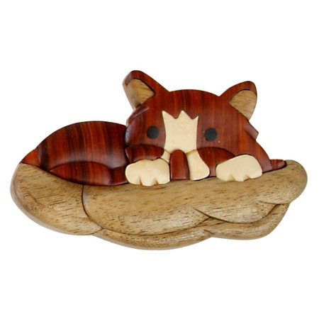 Old Glory Stationery (Kitten Wooden Magnet, 3D imaged kitten magnet By Old Glory )