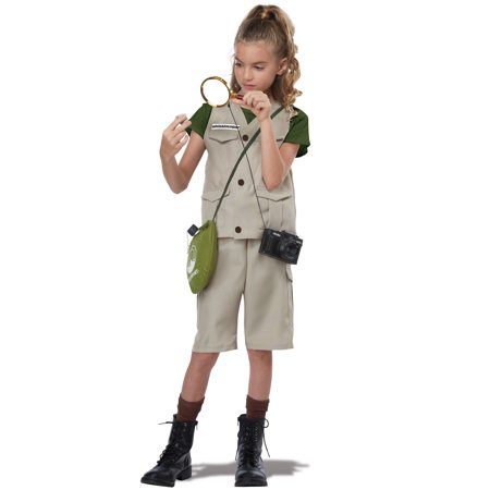 Wildlife Expert/Archaeologist Child Costume