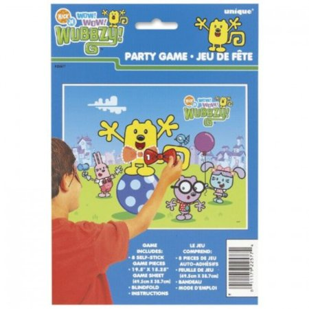 Wow! Wow! Wubbzy! Party Game Poster - Wow Window Posters Halloween