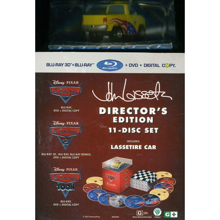 Cars 3-Movie Collection (Blu-ray + DVD + Digital Copy)
