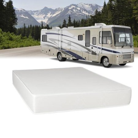 Select Luxury Airflow Flippable Rv 8 Inch Queen Short Size Foam Mattress Walmart Com
