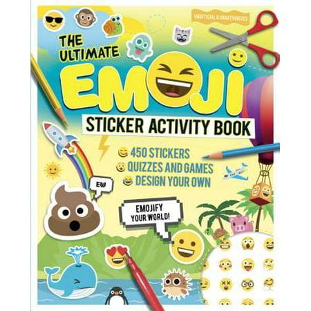 The Ultimate Emoji Sticker Activity Book (The Best Emoji App)