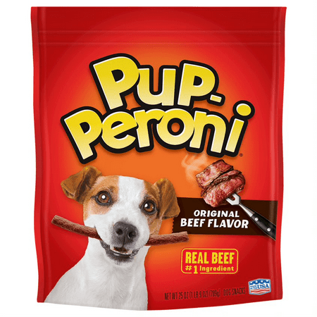 Pup-Peroni Original Beef Flavor Dog Snacks, 25-Ounce