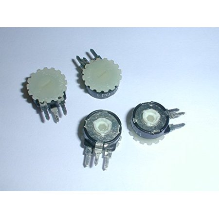 PT10YH01-106A2020 Trimmer Potentiometer 10MEG ohms .15 Watt Thumbwheel Adjust Vertical PC Board Mount (4 pieces) - PT10YH01-106A2020