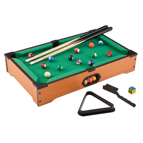 GLD Products Main Street Classics 2' Table Top Pool Table & Accessories