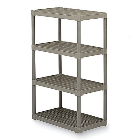 Vented Shelving Unit, Oyster ,Continental, 6485OY