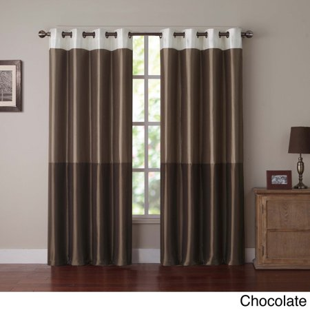 Curtains Ideas colorblock curtains : Park Slope Color Block Grommet Curtain Panel 84
