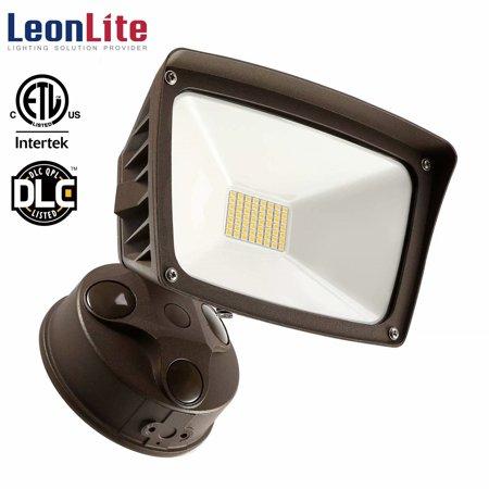 LEONLITE 28W Dusk-to-dawn LED Flood Light, Ultra-bright Garden Area Light, 5000K