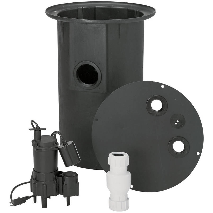 Flotec FP400C 4/10 HP Sewer Pump System