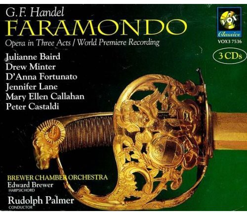 G.F. Handel - Handel: Faramondo [CD]