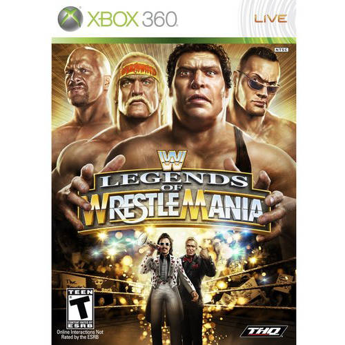 Wwe: Legends Of Wrestlemania (Xbox 360) - Pre-Owned