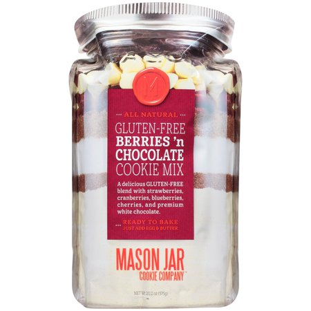 Mason Jar Cookie Company™ Gluten-Free Berries 'n Chocolate Cookie Mix 20.2 oz. Bag