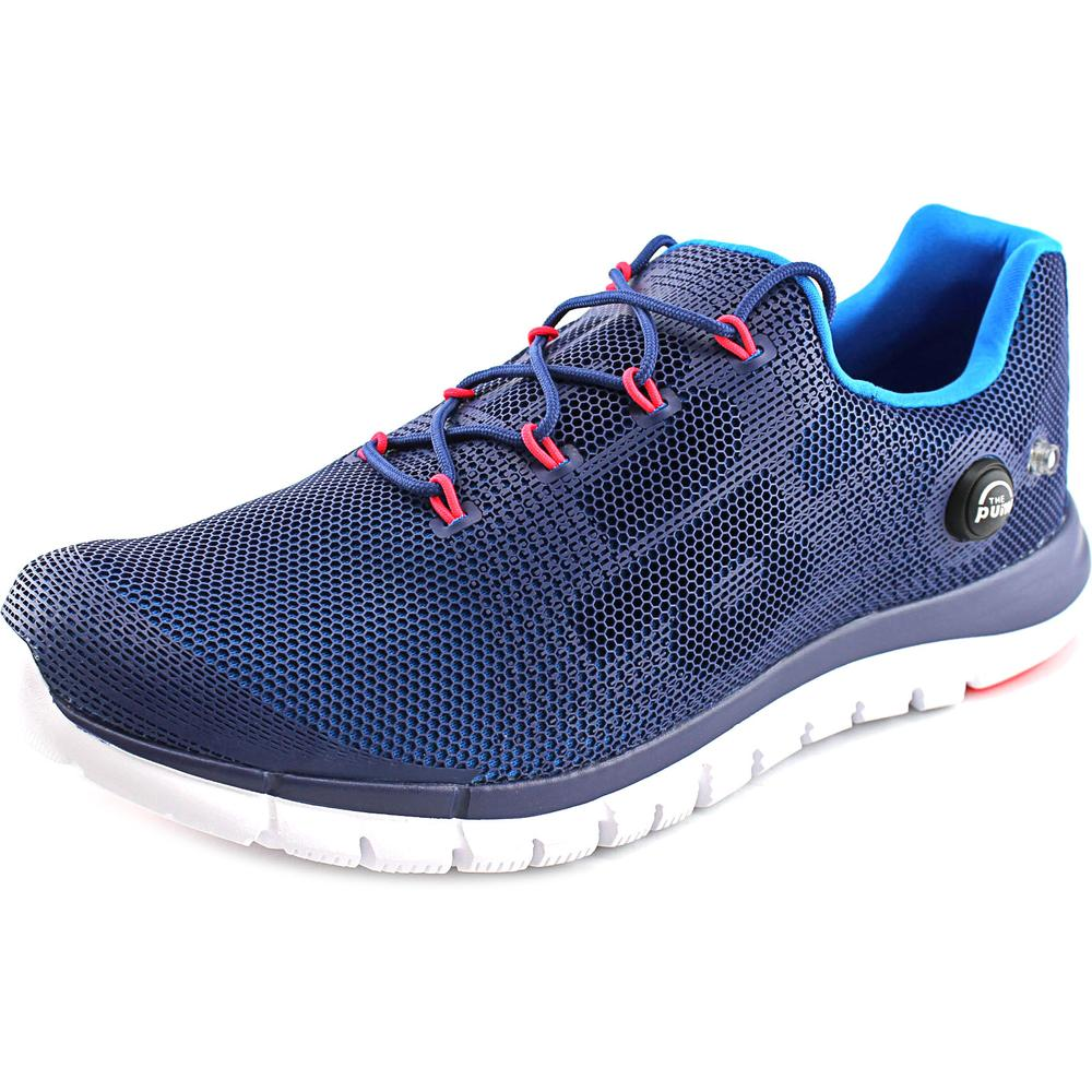 Reebok ZPump Fusion   Round Toe Synthetic  Running Shoe