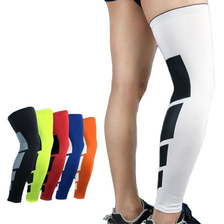 Compression Leg Sleeves Knee Brace for Sports, Running, Basketball, Calf Knee Pain Relief, Improve Blood Circulation and Injury Recovery - Best knee Calf Support for Men & (Sports Injury Treatment)