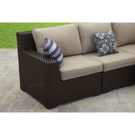 Better Homes and Gardens Weston Pointe 7 Piece Outdoor Sectional Set, Box 3 of 3