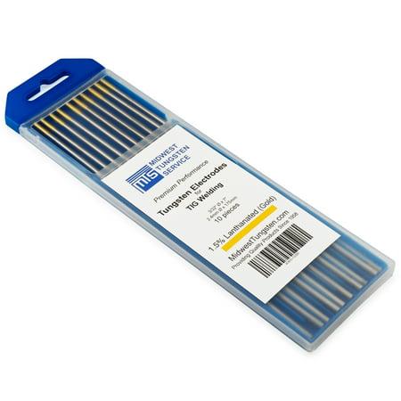 TIG Welding Tungsten Electrodes 1.5% Lanthanated 3/32