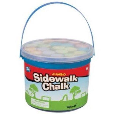 ToySmith Jumbo Sidewalk Chalk - 20 chalks Multi-Colored