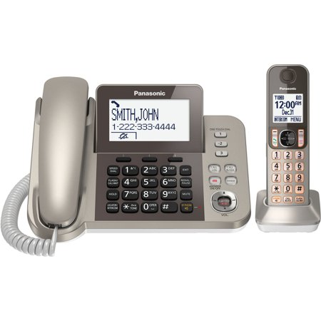 Panasonic KX-TGF350N Corded / Cordless Dect 1 Handset Landline (Panasonic Cordless Landline Phone Price In India)