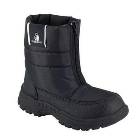af111613aca Rugged Bear Boys Snow Boots - Black- Size 13 (Little Kids) - Zippered Front