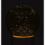Cypress Home Mercury Glass Night Light Up Accent Ball