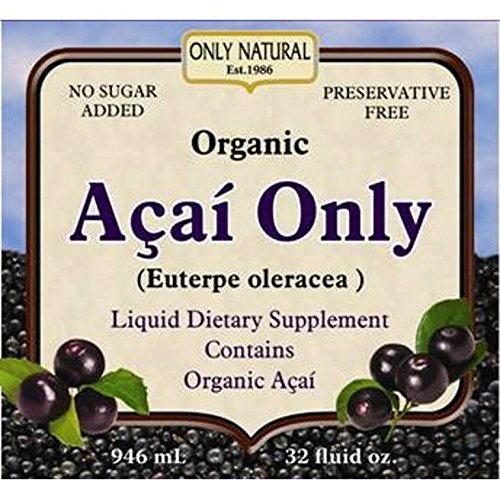 Only Natural Acai Only Organic Juice, 32 OZ